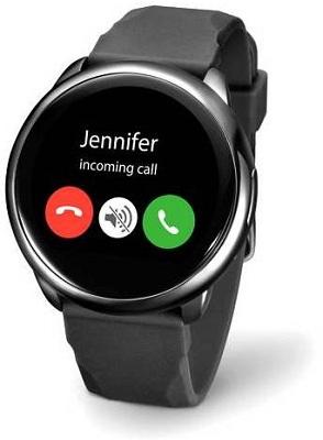 Часы способны выполнять функции полноценного телефона — прием и совершение звонков осуществляется, как на обыкновенном смартфоне