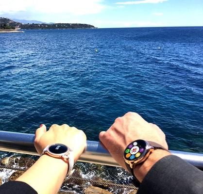 Часы ZeRound, как и младшую модель ZeCircle, можно смело брать с собой в морское путешествие — оба этих гаджета не боятся воды