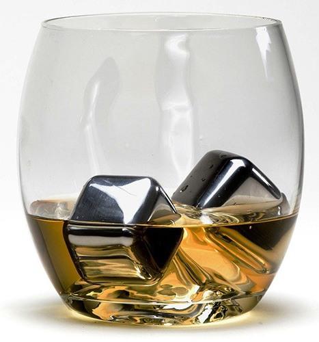 Стальные кубики для виски