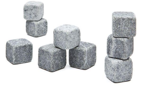 В комплекте идет 9 камней