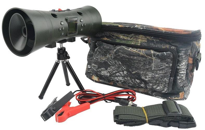 """Электронный манок """"Охотник SH2"""" комплектуется всем необходимым, включая удобную походную сумку"""
