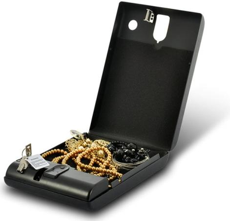 Предлагаемая модель идеально подходит для хранения ювелирных украшений и других ценных изделий