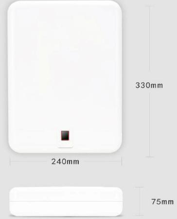 Внешние габариты автомобильного сейфа чуть больше размеров листа формата А4