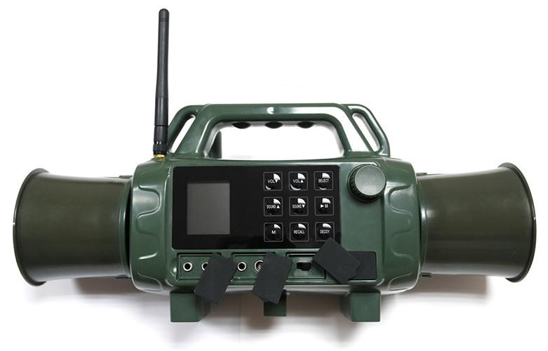 Качественный манок Охотник SH2 с беспроводным управлением и двумя мощными динамиками с возможностью поворота