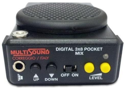 Основные управляющие кнопки есть также на лицевой панели самого манка, на которой располагается и разъем для подключения внешнего динамика