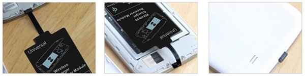 Вы можете легко спрятать адаптер за заднюю крышку корпуса смартфона, если это позволяет его конструкция