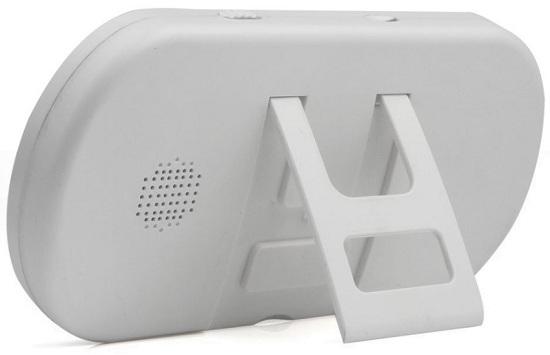 Вы можете поставить основной блок видеоглазка SE-S519 на стол или тумбочку, воспользовавшись специальным фиксатором (нажмите на фото для увеличения)