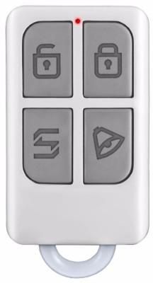 Беспроводной пульт ДУ сигнализации имеет компактные размеры и может использоваться в качестве брелока для ключей