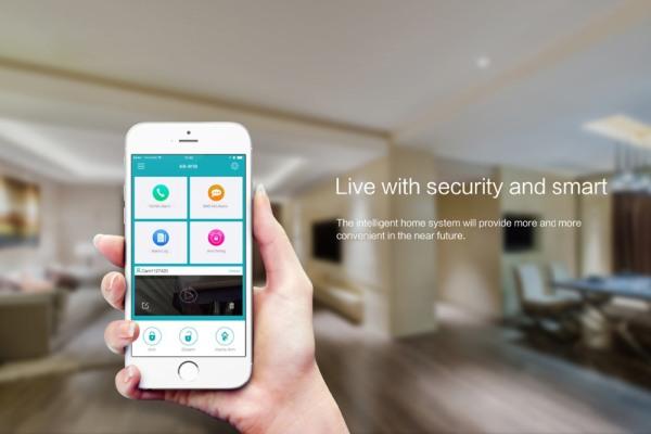 Приложение для управления сигнализацией с мобильных устройств имеет простой и интуитивно понятный интерфейс