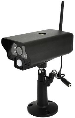 В данный комплект входит достаточно простая, но полнофункциональная камера на удобной подставке (нажмите на фото для увеличения)