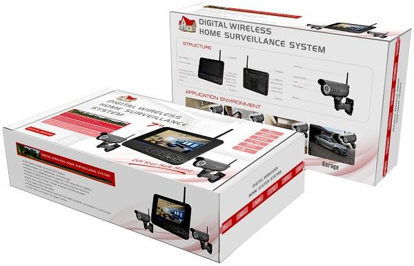 Упаковочная коробка видеокомплекта (дизайн упаковки может быть изменен) (нажмите на фото для увеличения)
