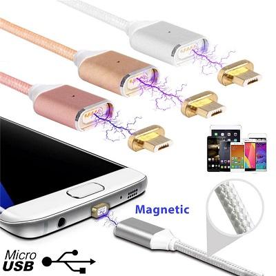 Магнитное соединение делает использование microUSB порта вашего гаджета крайне простым и удобным!