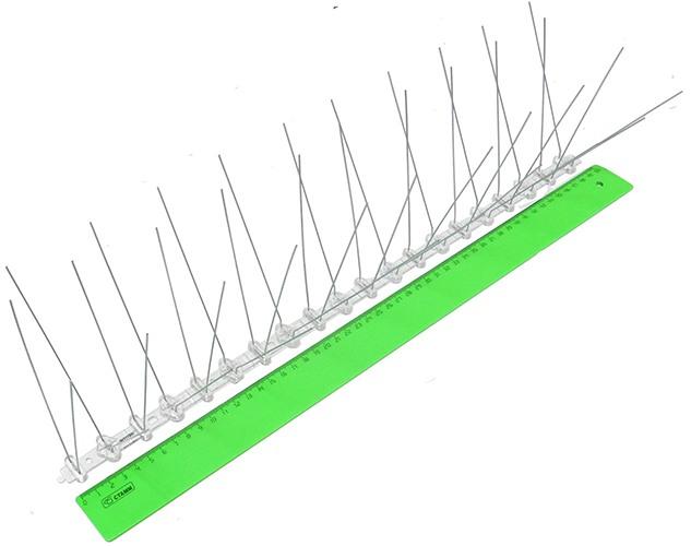 Длина одной секции, измеренная линейкой