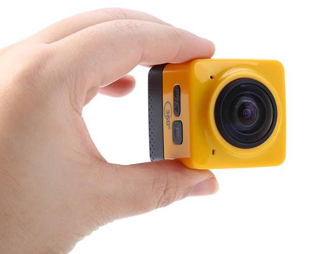 SITITEK Cube 360 — не только одна из самых дешевых, но и одна из самых миниатюрных камер с углом обзора 360° на рынке (нажмите на фото для увеличения)