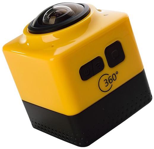 Сбоку камер располагаются основные кнопки управления и индикатор работы (нажмите на фото для увеличения)