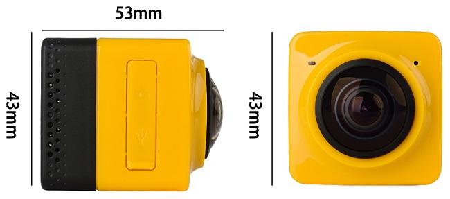 По габаритным размерам и весу камера SITITEK Cube 360 близка к рекордным показателям миниатюрности