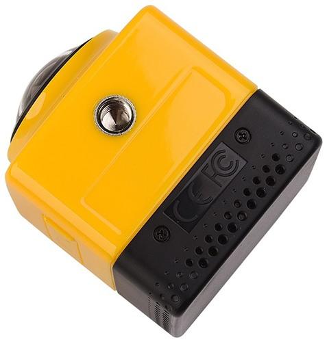 Стандартное резьбовое отверстие, расположенное на нижней грани корпуса камеры (нажмите на фото для увеличения)
