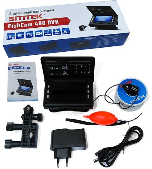 Видеокамера для рыбалки FishCam 400 DVR: комплектация