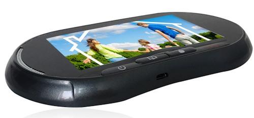 """Видеоглазок  """"SITITEK GSM PRO"""" оснащен цветным сенсорным дисплеем"""