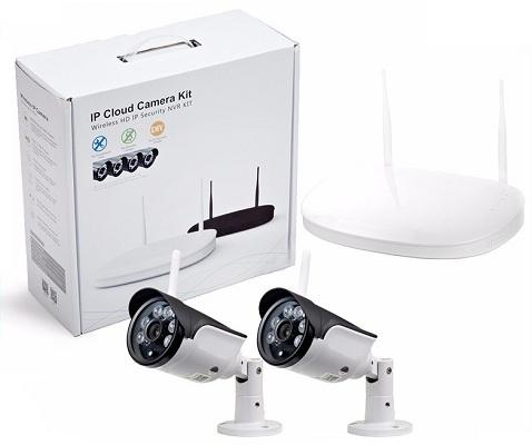 В данном комплекте есть все необходимое для быстрой организации простой системы видеонаблюдения (дизайн упаковки может быть изменен)
