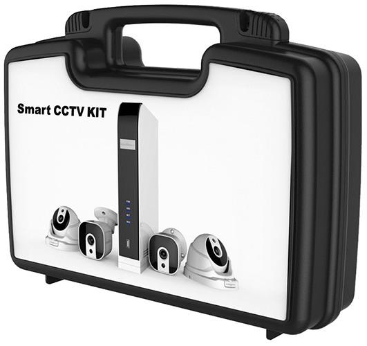 Видеокомплект SITITEK KST-KIT04 поставляется в удобном пластиковом кейсе (нажмите на фото для увеличения)