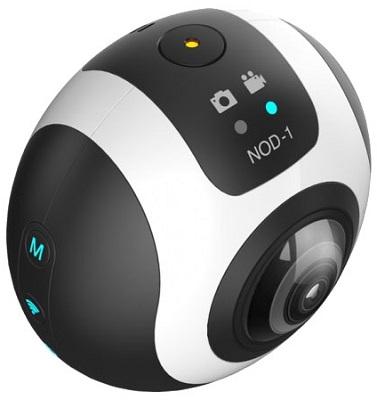Камера SITITEK NOD-1 поддерживает панорамную съемку на 360 градусов и множество других полезных функций