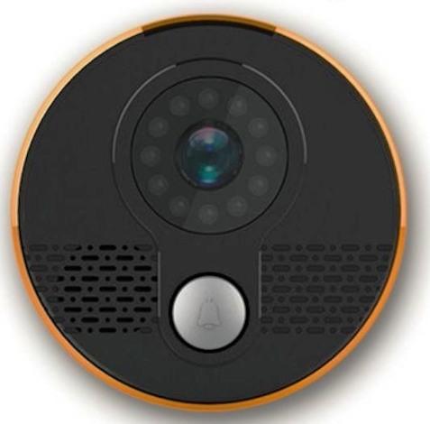 """Вызывная панель  """"SITITEK Puck"""" оснащена инфракрасными светодиодами для видеосъемки в темноте"""