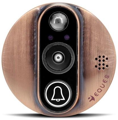 Несмотря на компактные размеры внешнего модуля видеоглазка, в нем содержится множество современных электронных компонентов