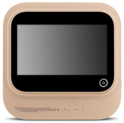 Внутренний модуль устройства тоже достаточно компактен и своим внешним видом, равно как и функционалом, напоминает мини-телевизор