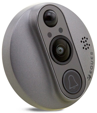 Камера видеоглазка базируется на 2-мегапиксельном CMOS сенсоре и имеет широкий угол обзора