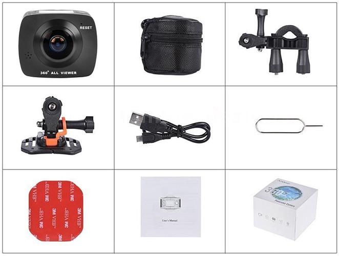 Комплект поставки камеры включает все необходимое (нажмите на фото для увеличения)