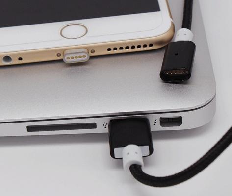 Кабель легко подключается к любым устройствам, оснащенным стандартным USB-портом