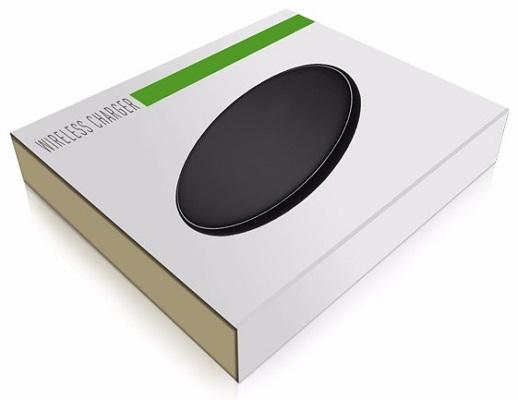 Беспроводная зарядка SITITEK W5S поставляется в фирменной картонной упаковке
