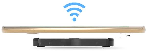 Беспроводная передача энергии к смартфону начинается уже на расстоянии 6 мм от поверхности зарядки