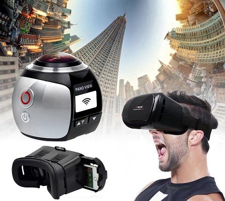 Хотите снять свой собственный VR фильм для очков виртуальной реальности? С камерой SITITEK XDV360 это вполне реально! (нажмите на фото для увеличения)