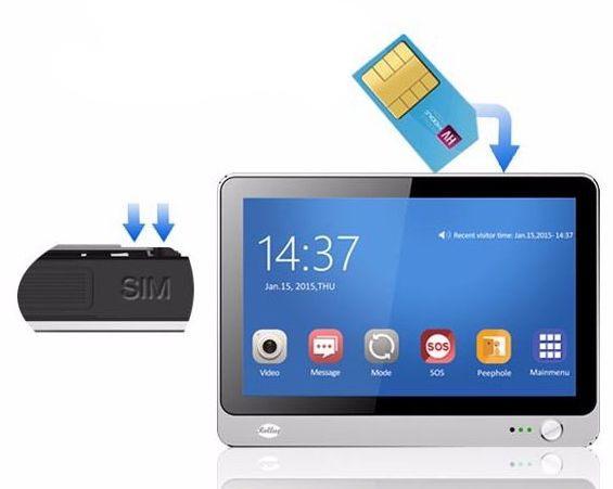 "Видеоглазок   ""SITITEK i8"" оснащен GSM-модулем"