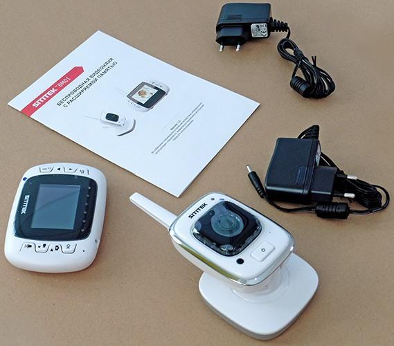 """Видеоняня """"SITITEK BM01"""" комплектуется двумя адаптерами питания"""