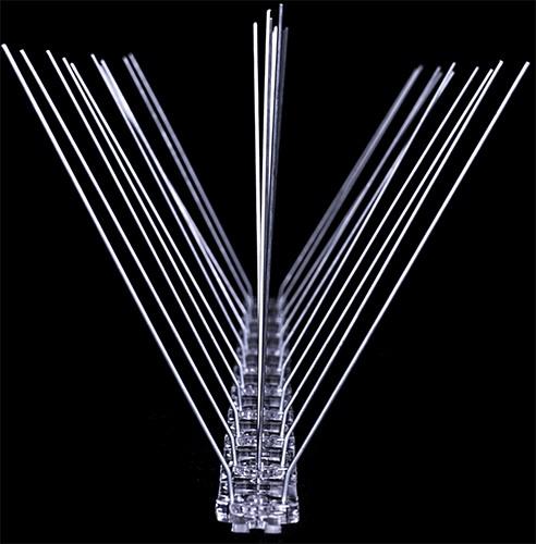"""Противоприсадные шипы """"SITITEK Барьер-Премиум 3"""" — надежное и гуманное средство избавления от пернатых вредителей, гарантирующее 100% эффективность"""