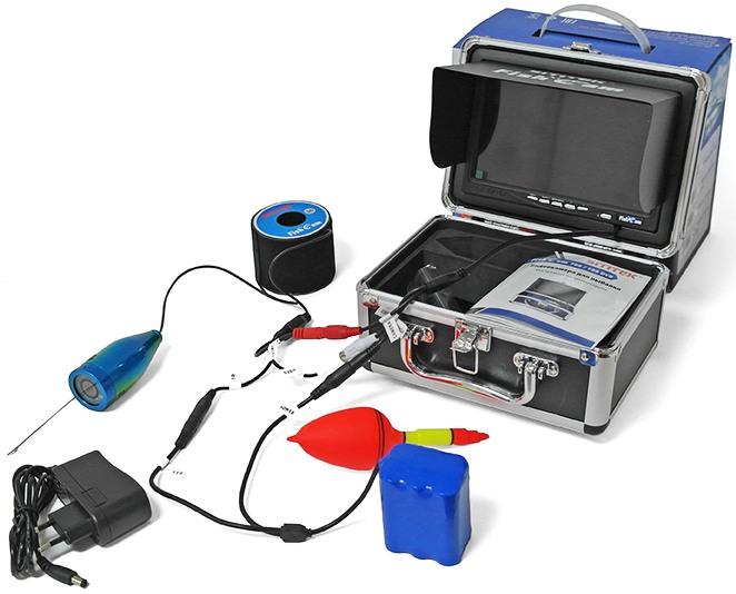 Видеокамера для рыбалки SITITEK FishCam-700 DVR: комплектация