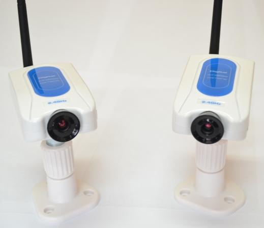 Каждая камера оснащена встроенным датчиком движения