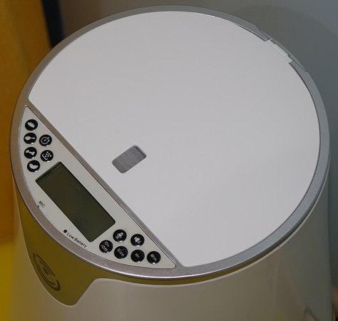 Панель управления с ЖК-дисплеем на верхней крышке