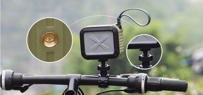 Благодаря наличию специальной резьбы вы можете легко закрепить колонку на руле своего велосипеда