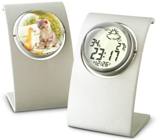 SITITEK ST-994T сочетает в себе функции домашней метеостанции, цифровых часов, календаря и миниатюрной рамки для фотографий