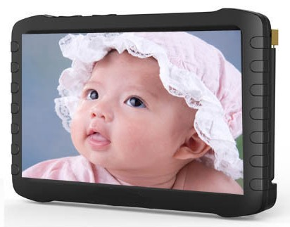 Предлагаемая модель видеоглазка комплектуется большим и ярким монитором