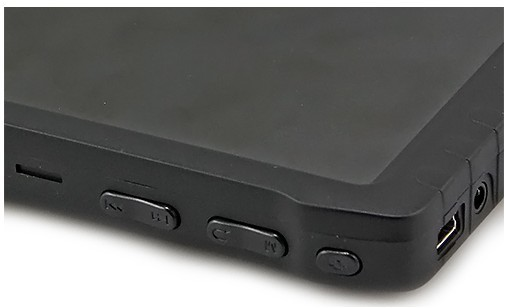 Расположение кнопок управления на корпусе монитора