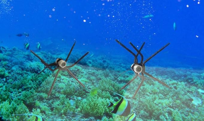Видеокамера комплектуется специальным кронштейном, на котором она фиксируется при погружении в водоем