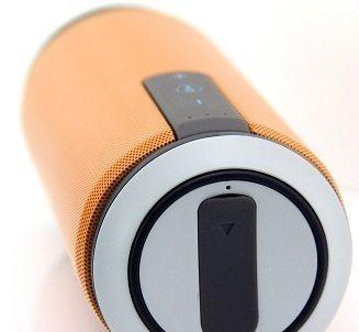 Беспроводная колонка SITITEK X6. Вид с торцевой стороны