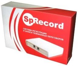 Адаптер записи телефонных разговоров поставляется покупателям в компактной картонной упаковке