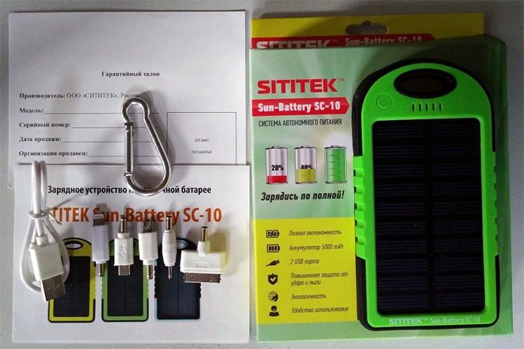 В комплекте с устройством поставляется богатый набор разнообразных USB-переходников (нажмите на фото для увеличения)