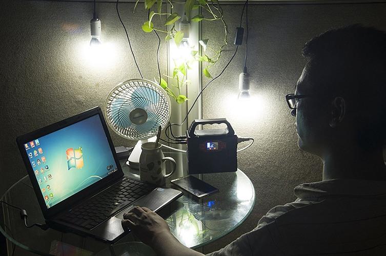 """Внезапно отключили электричество? С генератором """"Sun-Power P3"""" вы вполне можете этого и не заметить... (нажмите на фото для увеличения)"""